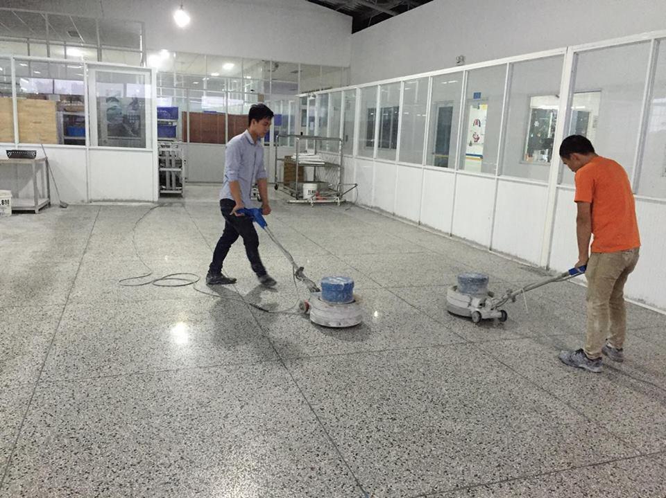 Đánh bóng sàn tại TP Vinh Nghệ An