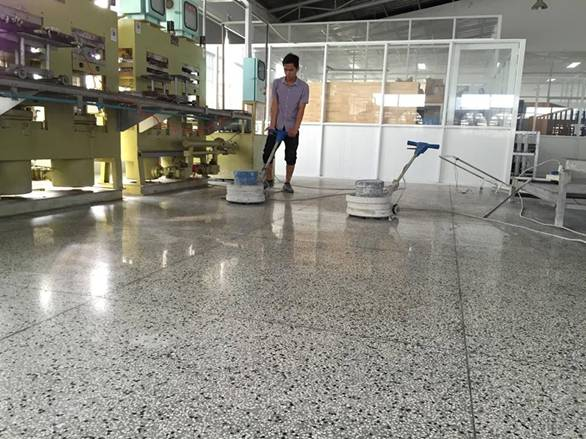đánh bóng sàn đá tại Nghệ An